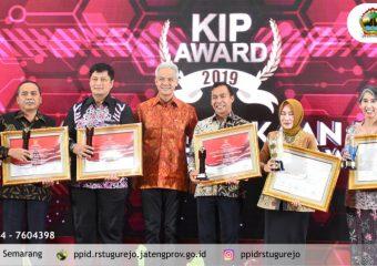 KIP Awards 2019, RSUD Tugurejo Pertahankan Kategori Informatif.